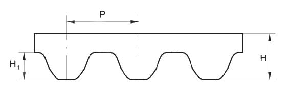 Profil remeň STD